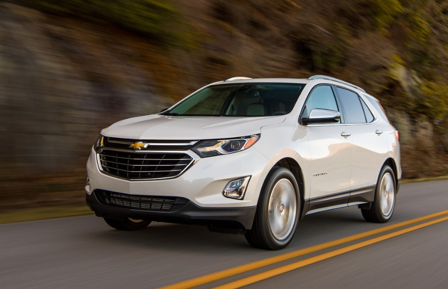 2020 Chevy Equinox Third Row changes