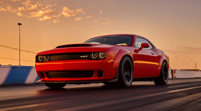 2019 Dodge Challenger Demon redesign