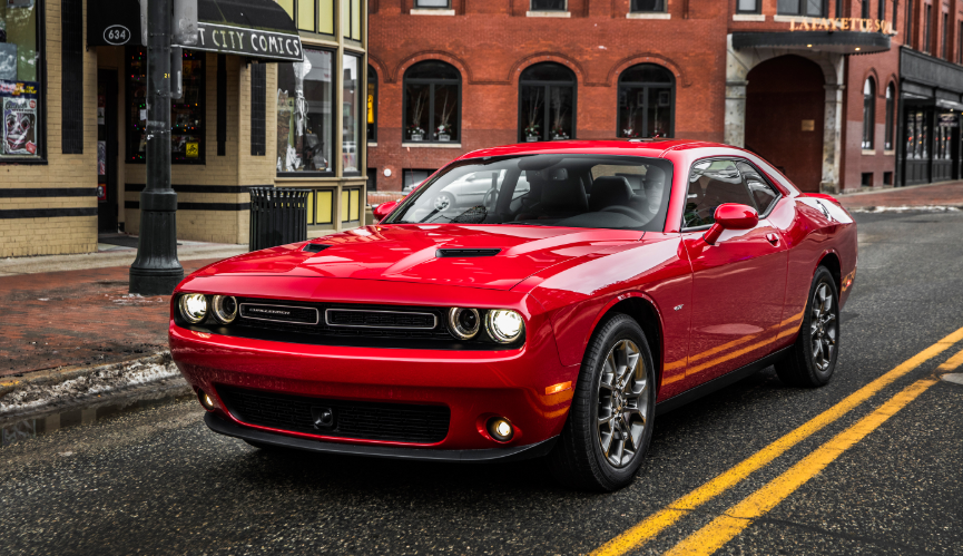 2019 Dodge Challenger AWD redesign