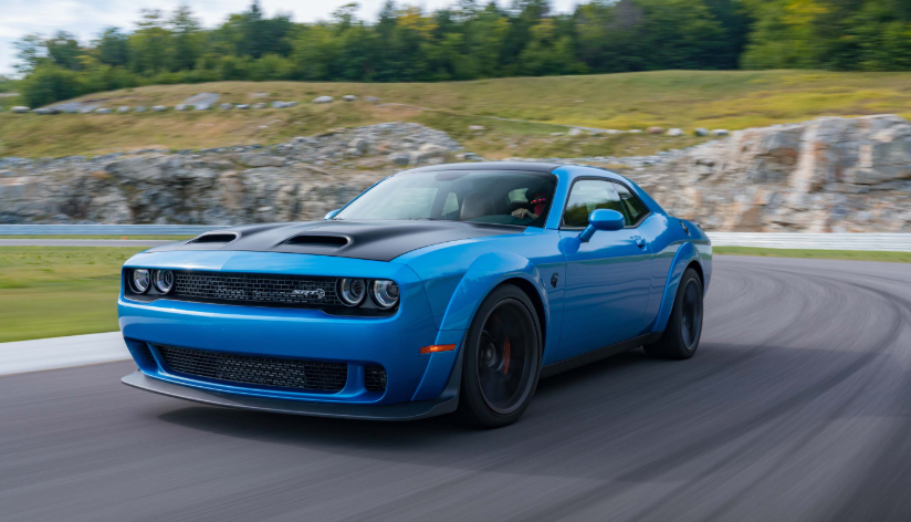 2019 Dodge Challenger Hood changes