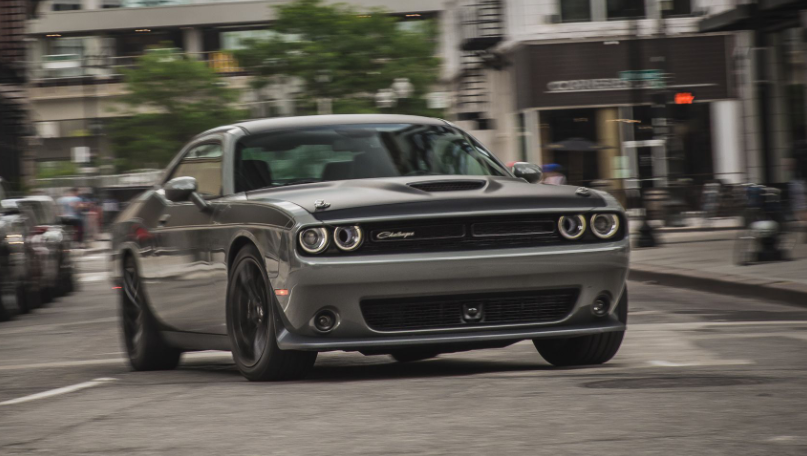 2019 Dodge Challenger Triple Nickel design
