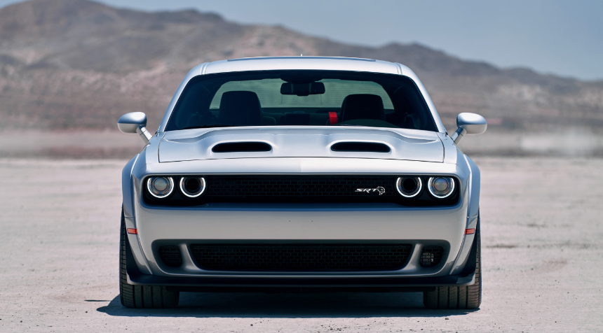 2019 Dodge Challenger Wide Body design