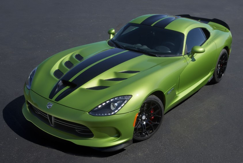 2019 Dodge Viper SRT redesign