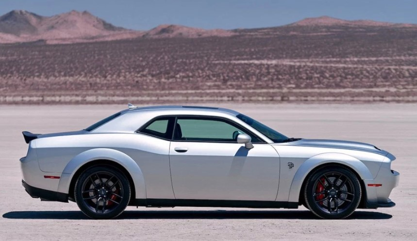 2020 Dodge Challenger SRT Red Eye changes