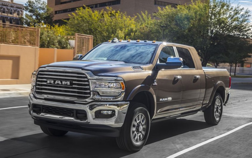 2020 Dodge Ram 3500 Diesel MPG changes