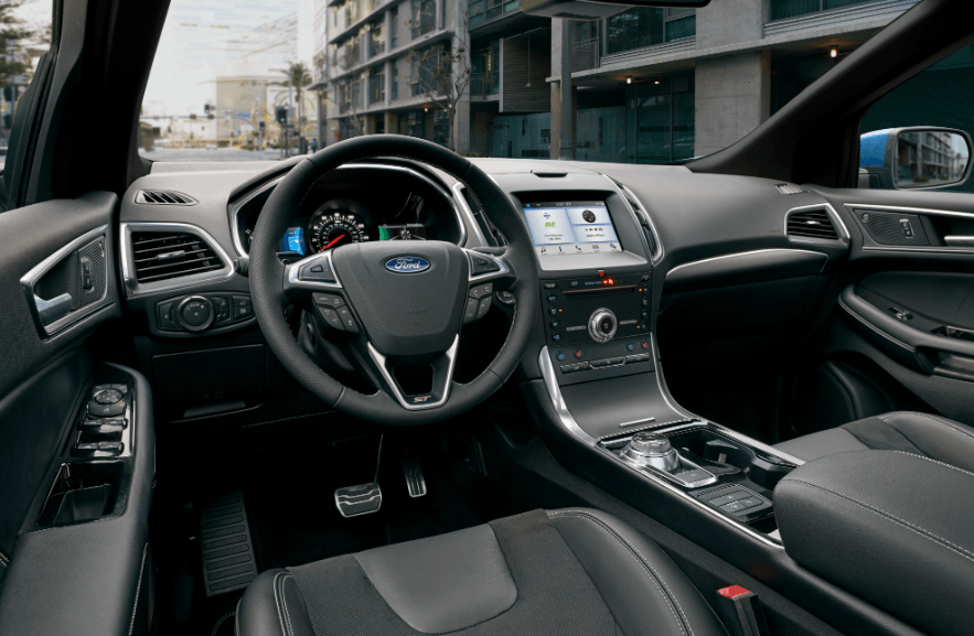 2020 Ford Edge Limited interior