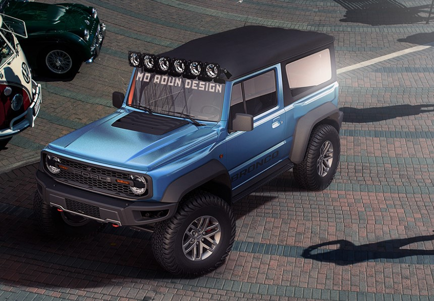 2020 Ford Bronco new