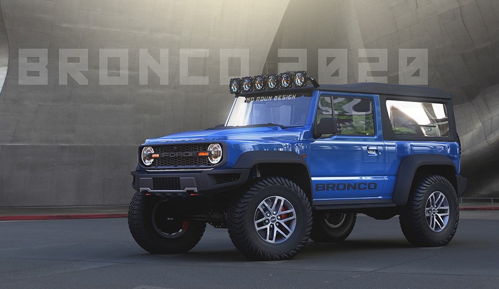 2020 Ford Bronco Prototype Colors, Release Date, Interior ...