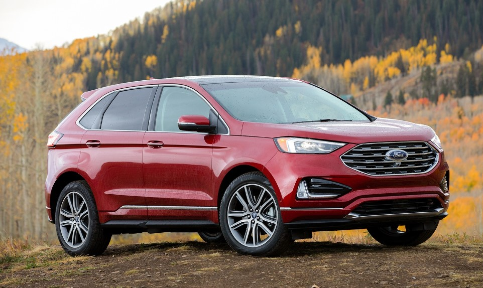 2020 Ford Edge SEL AWD Colors, Release Date, Interior ...