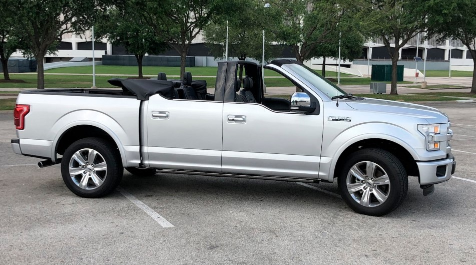 2021 Ford F 150 Convertible news