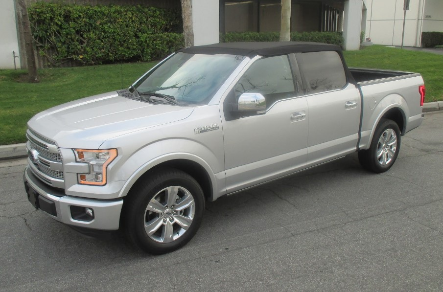 2021 Ford F 150 Convertible