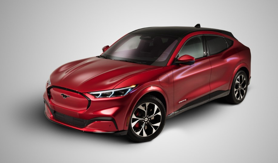 2021 Ford Mustang Mach E First Edition changes