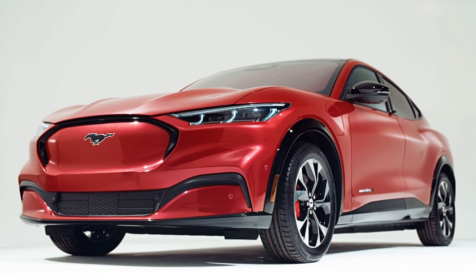 2021 Ford Mustang Mach E concept