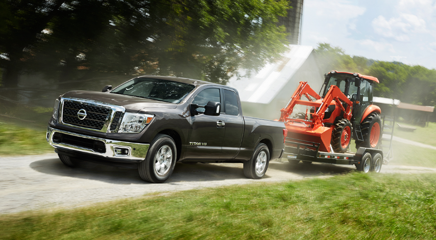 2019 Nissan Titan Towing Capacity
