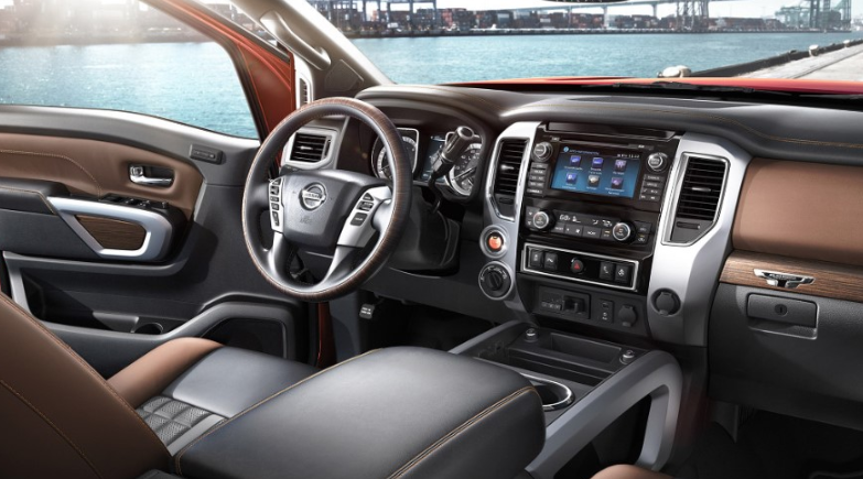 2020 Nissan Titan SV changes