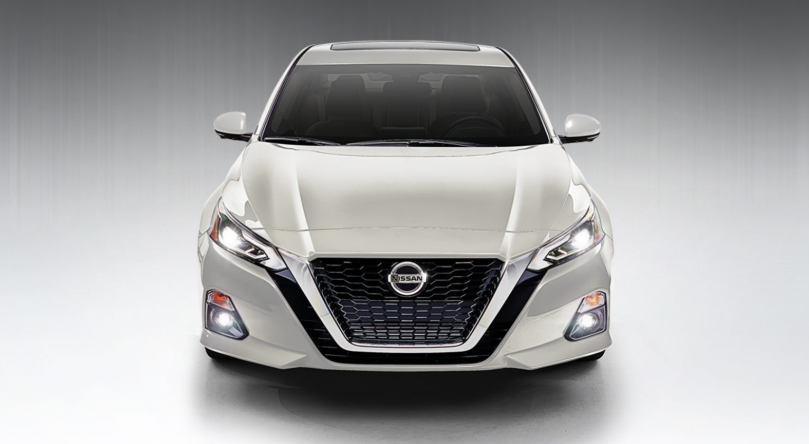 2019 Nissan Altima White redesign