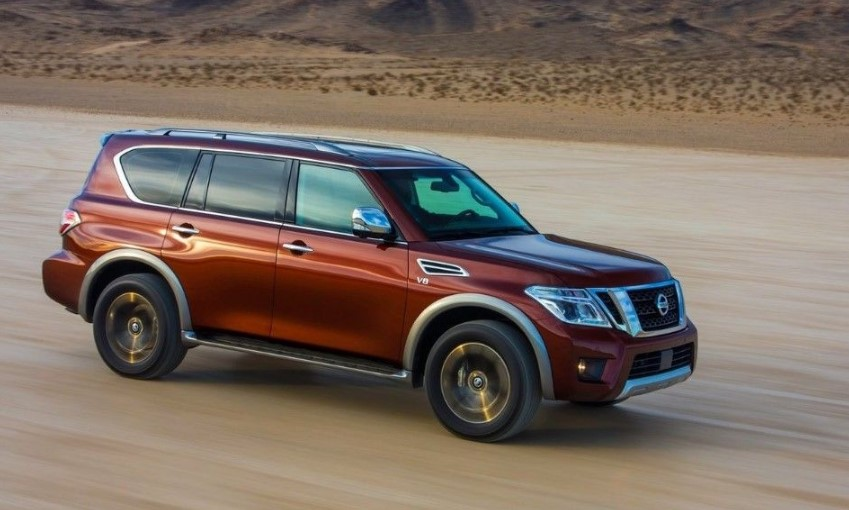 2019 Nissan Armada Off-Road release date