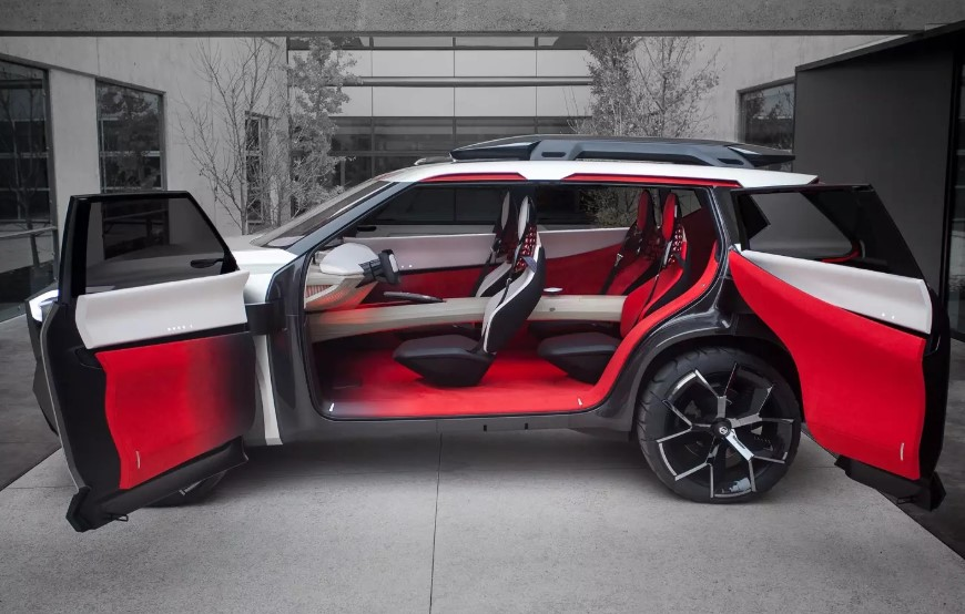 2019 Nissan Xmotion SUV interior