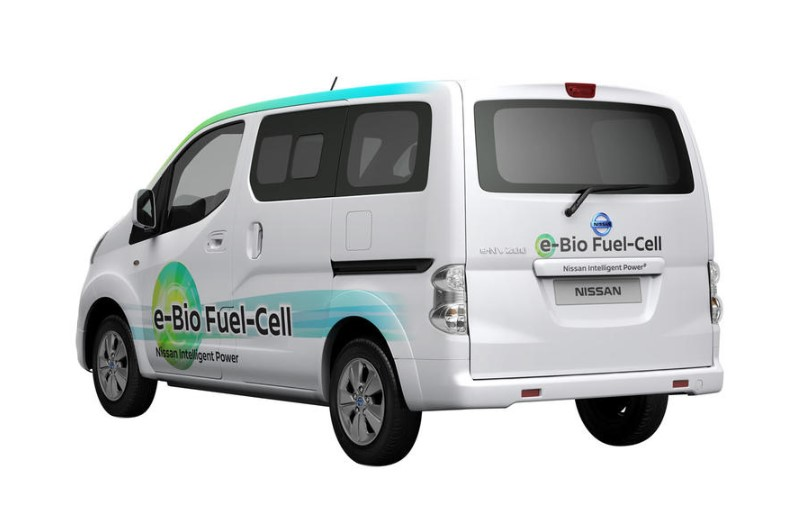 2019 Nissan e-Bio Fuel Cell changes
