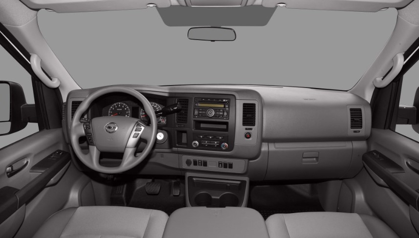2020 Nissan NV1500 interior