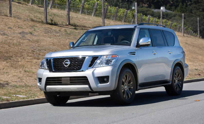2020 Nissan Armada V8 release date