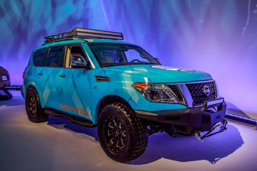 2020 Nissan Armada Off Road release date