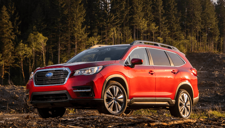 2021 subaru ascent red colors release date interior