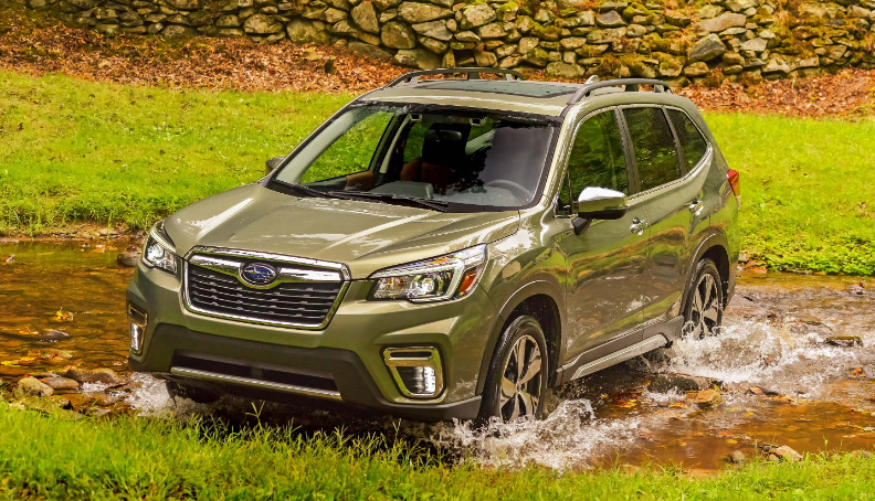 2021 subaru forester black release date colors changes